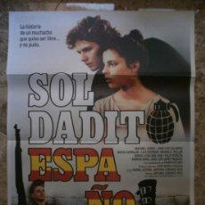 Cine: SOLDADITO ESPAÑOL. MARIBEL VERDU, JUAN LUIS GALIARDO. . Lote 32207989