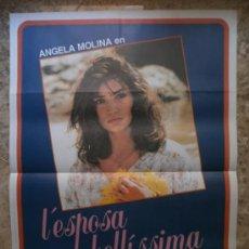 Cine: L`ESPOSA ERA BELLISSIMA. ANGELA MOLINA. AÑO 1987.. Lote 32208047