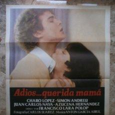 Cine: ADIOS...QUERIDA MAMA. CHARO LOPEZ, SIMON ANDREU.. Lote 32208177