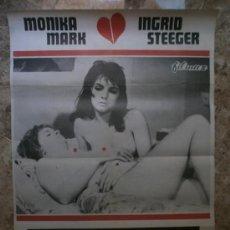 Cine: LAS GOZADORAS. MONICA MARK, INGRID STEEGER. AÑO 1982.. Lote 32208275