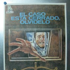 Cine: EL CASO ESTA CERRADO, OLVIDELO - FRANCO NERO - AÑOS 70. Lote 32213159