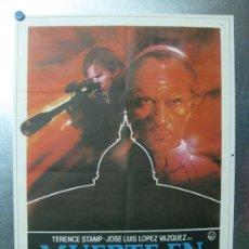 Cine: MUERTE EN EL VATICANO - TERENCE STAMP, JOSE LUIS LOPEZ VAZQUEZ - AÑO 1982. Lote 32213202