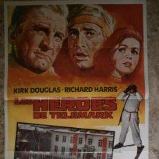Cine: LOS HEROES DE TELEMARK - KIRK DOUGLAS, RICHARD HARRIS. AÑO 1983. Lote 86174934