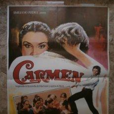 Cine: CARMEN. CARLOS SAURA, ANTONIO GADES, LAURA DEL SOL. AÑO 1983.. Lote 32248992