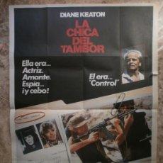 Cine: LA CHICA DEL TAMBOR. DIANE KEATON. AÑO 1985.. Lote 32261674