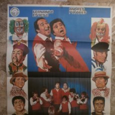 Cine: PADRE NO HAY MAS QUE DOS. FERNANDO ESTESO, ANDRES PAJARES. AÑO 1982.. Lote 32263810