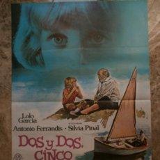 Cine: DOS Y DOS CINCO. LOLO GARCIA, ANTONIO FERRANDIS. AÑO 1981. Lote 218514100