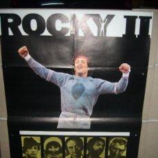 Cine: ROCKY II SYLVESTER STALLONE POSTER ORIGINAL 70X100 DEL ESTRENO MODELO B DIFICIL. Lote 32266589