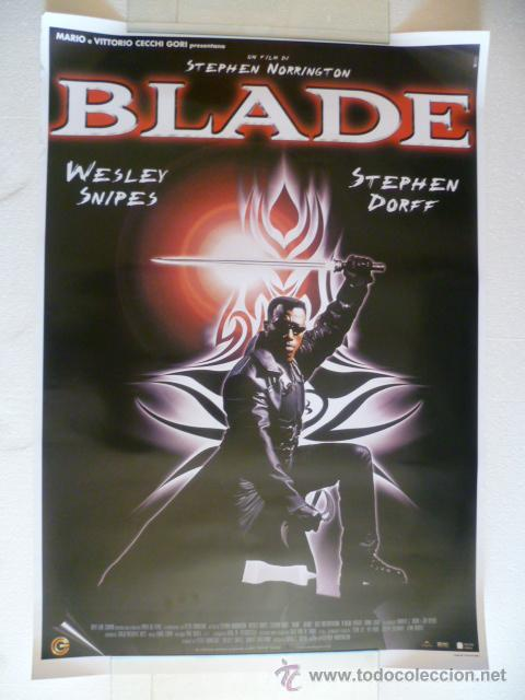 Blade Wesley Snipes Poster 69x100 Sold Through Direct Sale 32292965