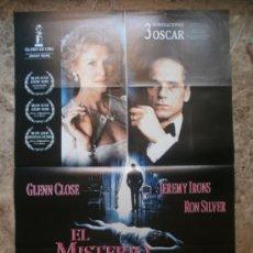 Cine: EL MISTERIO VON BULOW. GLENN CLOSE, JEREMY IRONS. AÑO 1990.. Lote 32294576