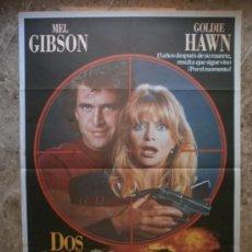 Cine: DOS PAJAROS A TIRO. MEL GIBSON, GOLDIE HAWN. AÑO 1990. Lote 105239732