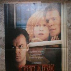 Cine: DE REPENTE, UN EXTRAÑO. MELANIE GRIFFITH, MATTHEW MODINE, MICHAEL KEATON. AÑO 1990.. Lote 32296819