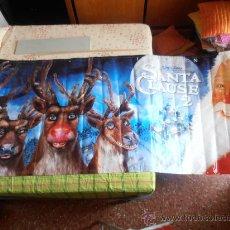 Cine: SANTA CLAUS 2,¡¡¡¡OJO!!!! CARTEL GIGANTE DE TELA/LONA/PLASTICO DE 300X120 CM APROX(10). Lote 32311553