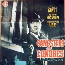 Cine: GANGSTERS EN LONDRES. Lote 32347184
