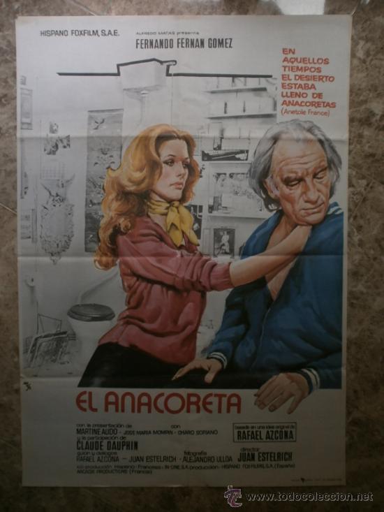 EL ANACORETA. FERNANDO FERNAN GOMEZ.AÑO 1976. (Cine - Posters y Carteles - Clasico Español)