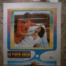 Cine: LA PLAYA VACIA. AMPARO RIVELLES, JORGE RIVERO. AÑO 1977.. Lote 41300301