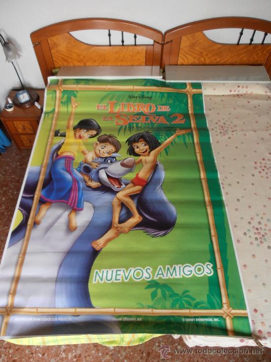 EL LIBRO DE LA SELVA 2,¡¡¡¡OJO!!!! CARTEL GIGANTE DE PAPEL DE 180X120 CM APROX(104) (Cine - Posters y Carteles - Infantil)