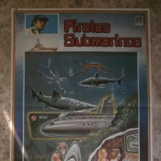 Cine: PIRATAS SUBMARINOS. LEE MAJORS, PAMELA HENSLEY, RICHARD ANDERSON. AÑO 1980.. Lote 32377553