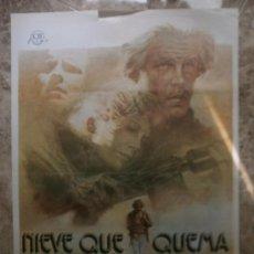 Cine: NIEVE QUE QUEMA. NICK NOLTE, TUESDAY WELD, MICHAEL MORIARTY. AÑO 1977.. Lote 32377619