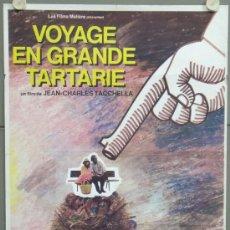 Cine: PC81 VIAJE A LA GRAN TARTARIA JEAN CHARLES TACCHELLA POSTER FRANCES ORIGINAL 60X80. Lote 32385623