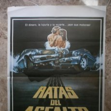 Cine: RATAS DEL ASFALTO. ANA MARTIN, ARMANDO SILVESTRE. AÑO 1980.. Lote 32399384
