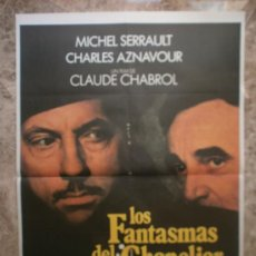 Cine: LOS FANTASMAS DEL CHAPEL. MICHEL SERRAULT, CHARLES AZNAVOUR. . Lote 32399554