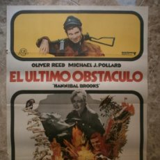 Cine: EL ULTIMO OBSTACULO. OLIVER REED, MICHAEL J. POLLARD. AÑO 1970.. Lote 32436007
