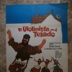 Cine: EL VIOLINISTA EN EL TEJADO. TOPOL, NORMA CRANE, LEONARD FREY. AÑO 1971.. Lote 32464773