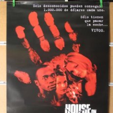 Cine: HOUSE ON HAUNTED HILL. Lote 32471061