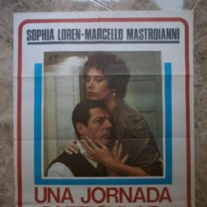 Cine: UNA JORNADA PARTICULAR - SOPHIA LOREN, MARCELLO MASTROIANNI - AÑO 1977. Lote 91241177