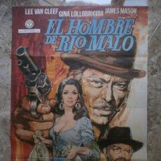 Cine: EL HOMBRE DE RIO MALO. LEE VAN CLEEF, GINA LOLLOBRIGIDA, JAMES MASON. AÑO 1972.. Lote 38935634
