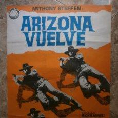Cine: ARIZONA VUELVE. ANTHONY STEFFEN. AÑO 1970.. Lote 32498594