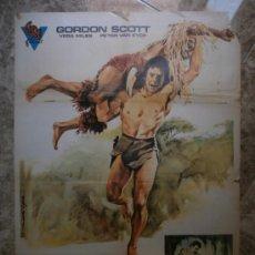 Cine: TARZAN EN LA SELVA ESCONDIDA. GORDON SCOTT, VERA MILES, PETER VAN EYCK. AÑO 1976.. Lote 32500017