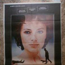 Cine: LA MUJER DEL DOMINGO. JEAN - LOUIS TRINTIGNANT, JACQUELINE BISSET, MARCELLO MASTROIANNI. AÑO 1976.. Lote 32516791