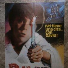 Cine: DAVID. PEGGY FEURY, JOANNA MILES, DONN WHYTE. AÑO 1982. Lote 84397139