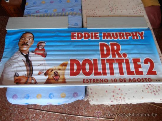 DR. DOLITTLE 2¡¡¡¡OJO!!!! CARTEL GIGANTE DE TELA/LONA/PLASTICO DE 189X75 CM APROX(63) (Cine - Posters y Carteles - Infantil)