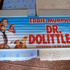 Cine: DR. DOLITTLE 2¡¡¡¡OJO!!!! CARTEL GIGANTE DE TELA/LONA/PLASTICO DE 189X75 CM APROX(63). Lote 32600862