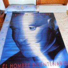 Cine: EL HOMBRE BICENTENARIO¡¡¡¡OJO!!!! CARTEL GIGANTE DE TELA/LONA/PLASTICO DE 170X120 CM APROX(70). Lote 32600922