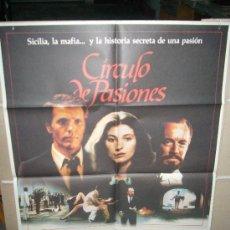 Cine: CIRCULO DE PASIONES ASSUMPTA SERNA GIULIANO GEMMA POSTER ORIGINAL 70X100 YY. Lote 32533263