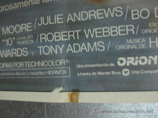Cine: 10 LA MUJER PERFECTA. DUDLEY MOORE, JULIE ANDREWS. AÑO 1980. - Foto 4 - 32534010