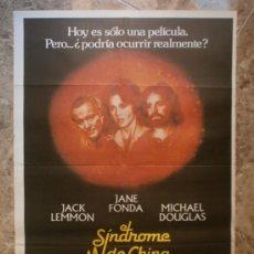 Cine: EL SINDROME DE CHINA. JANE FONDA, JACK LEMMON, MICHAEL DOUGLAS. AÑO 1979.. Lote 32553372