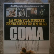 Cine: COMA. MICHAEL DOUGLAS, GENEVIEVE BUJOLD. . Lote 32553771