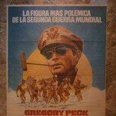 Cine: MACARTHUR EL GENERAL REBELDE. GREGORY PECK. AÑO 1977.. Lote 32556033