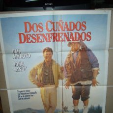 Cine: DOS CUÑADOS DESENFRENADOS JOHN CANDY DAN AYKROYD POSTER ORIGINAL 70X100 YY. Lote 32568644