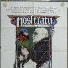 Cine: PG75 NOSFERATU VAMPIRO DE LA NOCHE KLAUS KINSKI ISABELLE ADJANI POSTER ORIGINAL AMERICANO 70X105. Lote 53570832