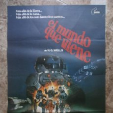 Cinéma: EL MUNDO QUE VIENE. JACK PALANCE, CAROL LYNLEY, BARRY MORSE. AÑO 1979.. Lote 32579453