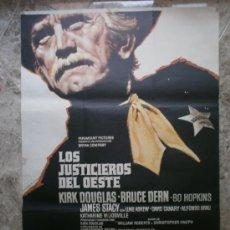 Cine: LOS JUSTICIEROS DEL OESTE. KIRK DOUGLAS, BRUCE DERN. AÑO 1975.. Lote 32580795