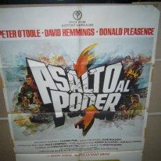 ASALTO AL PODER PETER O´TOOLE POSTER ORIGINAL 70X100 YY