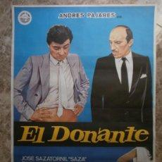 Cine: EL DONANTE. ANDRES PAJARES. AÑO 1985.. Lote 32591981