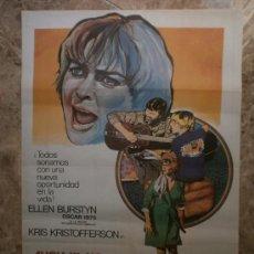 Cine: ALICIA YA NO VIVE AQUI. ELLEN BURSTYN, KRIS KRISTOFFERSON. AÑO 1977.. Lote 33312250